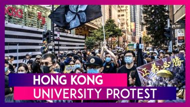 Hong Kong Protests: Hundreds Arrested As Standoff Enters Third Day, Protesters Try To Escape University